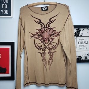 Men's Long Sleeve Graphic top By Free